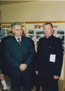 Е.А. Корчагин и Н.И. Корепанов, 2005 г.
