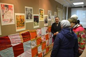 Экскурсия в музее. Результаты акции Солдатский платок