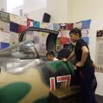 Военно-исторический клуб в кабине истребителя