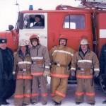 Личный состав пожарной части по охране с.Белоярск,  2010г.