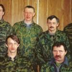 Караул №1 пожарной части по охране  с.Аксарка, 2002г