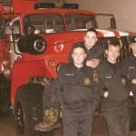 Караул №2 пожарной части по охране  с.Аксарка, 2008г
