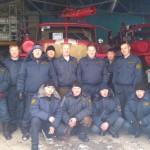 Личный состав пожарной части по охране с. Катравож, 2010г