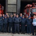 Личный состав пожарной части по охране с.Белоярск, 2016г