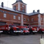Техника  пожарной части по охране с.Аксарка