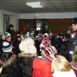 Встреча со школьниками в  пожарной части по охране пгт. Харп