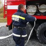 Занятия по ПСП, Канев В.С. Пожарная часть  по охране с.Харсаим