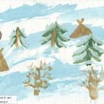 Стойбище в лесу Автор Изосимова Галя 6 лет