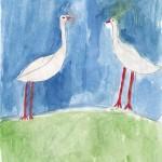 Тундровые лебеди Автор Салиндер Нина 3 а класс
