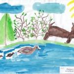 В лесотундре Автор Кали Тамара 3 г класс