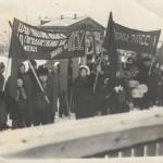 Демонстрация к 7 ноября коллектив районного узла связи 70-е гг 20 в