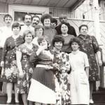 п. Аксарка. Встреча сотрудников районного узла связи на праздновании Дня радио. 1989г. Фотография из личного архива Рочевой Е.В