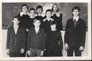 ПМОФ-415. Учащиеся Аксарковской школы 1979 год