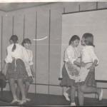 ПМОФ-417. Участники художественной самодеятельности Аксарковской средней школы 1984 год
