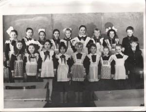 ПМОФ-423. Сбор пионерской организации в Аксарковской школе 1987 год