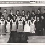 Слет отличников и хорошистов - школа 1988 год